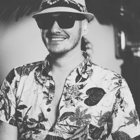 Alexander Wills - Portrait Photography - Smiling With Sunglasses